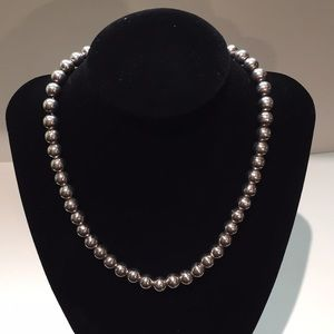 Jewelry - Sterling silver ball necklace